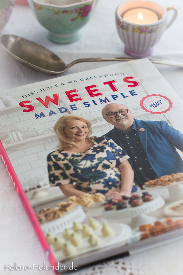 Sweets made Simple, Miss Hope and Mr. Greenwood, BBC Books, Helene Holunder, vegan